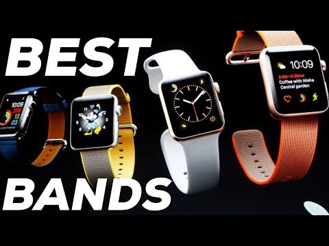 MOST COMFORTABLE APPLE WATCH BANDS! Apple Watch Leather Loop REVIEW! Best Apple Watch Bands!