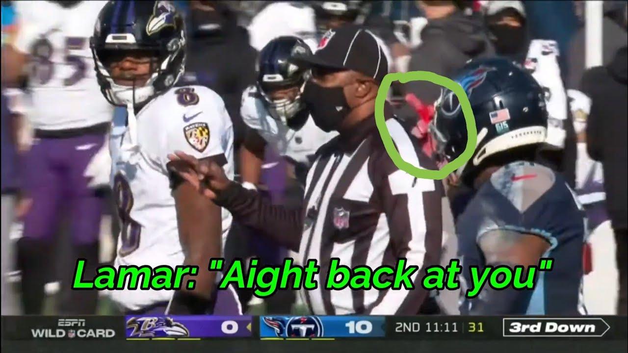 Titans Ravens 2020-21 Rivalry | Disrespect, Trash Talk & Big Hits