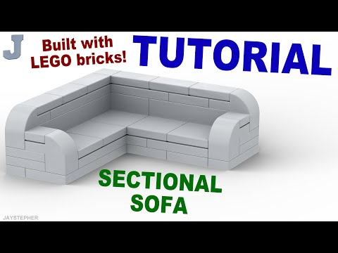 Tutorial - LEGO Sectional Sofa How To