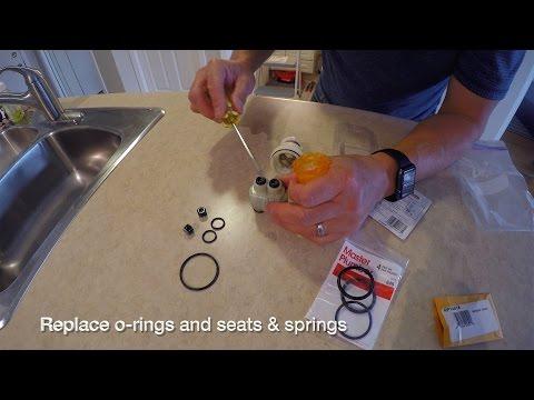 Repair Leaky Delta Monitor 1300/1400 Faucet