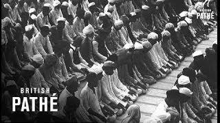 Ibn Saud At The Taj Mahal (1955)
