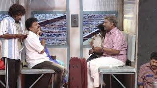 #ThakarppanComedy I A hilarious train journey!!! I Mazhavil Manorama