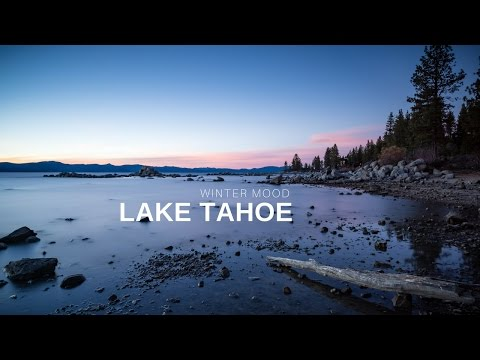 Winter Mood, Lake Tahoe, California | 4k iPhone 7 Cinematic Footage |  DJI Osmo Mobile - Filmic Pro