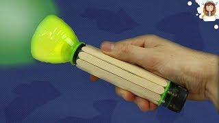 How to Make a Flashlight using Plastic Bottles
