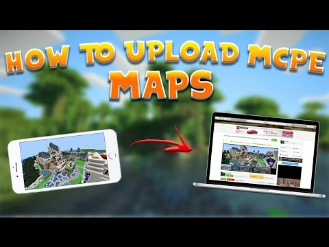 How to UPLOAD/SHARE MCPE MAPS to any community or friends! | MCPE 1.X+ | Mac & iOS