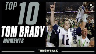 Tom Brady's Top 10 Moments with Patriots!