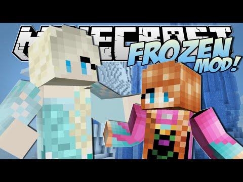Minecraft | FROZEN MOD!! (Anna, Elsa, Ice Powers & More!) | Mod Showcase