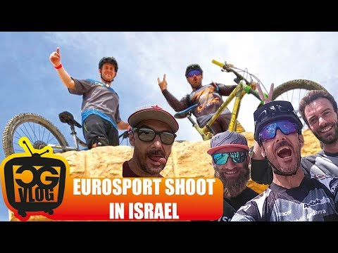 Freeride Moutain Biking  in Israel with Sam Pilgrim - Eurosport Video Shoot - CG VLOG #316