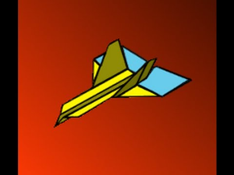 How to Make the Extreme Wildebeest Paper Airplane Instructions Video