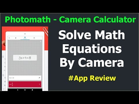 PhotoMath App  Solve Math Problems Using Camera  Photomath Calculator Hindi
