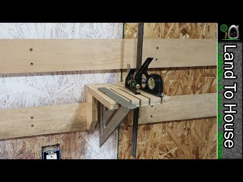 Square Holder French Cleat - Build a Workshop #52