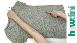 How to Fold a T-Shirt in Under 10 Seconds: Howdini Hacks