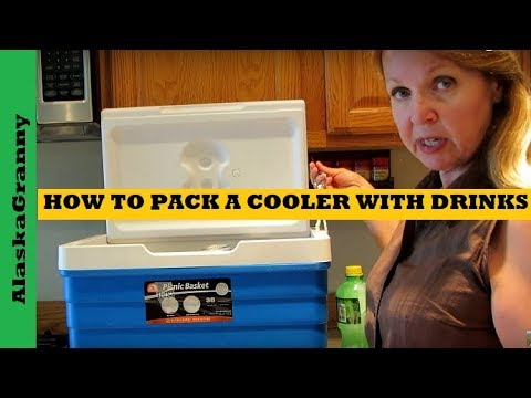How To Pack A Cooler With Drinks