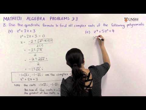 Complex Roots of Polynomials