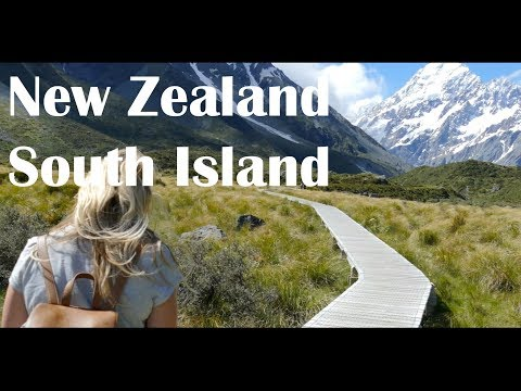 New Zealand South Island road trip -  4K