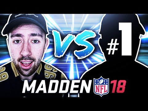 PLAYING THE #1 MADDEN PLAYER IN THE WORLD! (XXC-T25XX) MADDEN 18 ULTIMATE TEAM