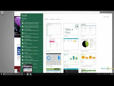 Windows 10 - Launching Applications from the Taskbar