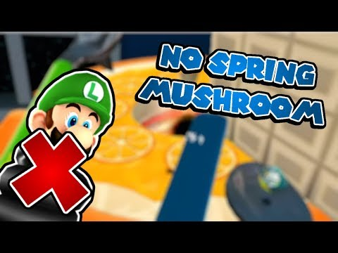 Bouncing Down Cake Lane WITHOUT Spring Mushroom! (Super Mario Galaxy Challenge)