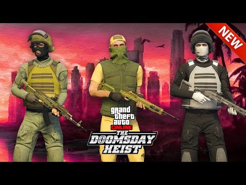 TOP 3 MILITARY OUTFITS in GTA Online! (The DOOMSDAY Heist Outfits)