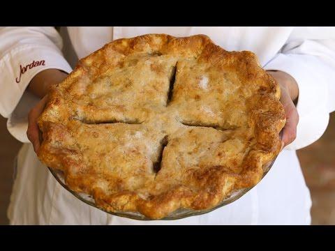 Pie Crust Recipe Baking Tutorial Demonstration: How to Make Tender, Flaky Pie Crust