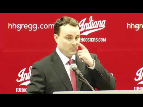Former UD Coach, Archie Miller, speaks for the 1st time in new coaching job