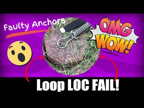 Faulty Loop Loc Brass Anchor Installation