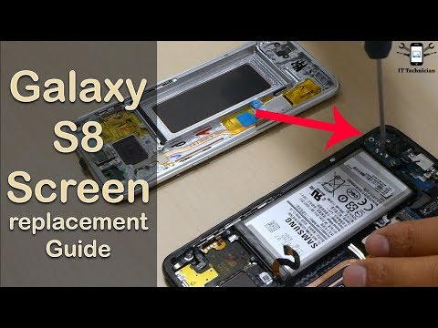 Samsung Galaxy S8 Screen replacement | complete guide