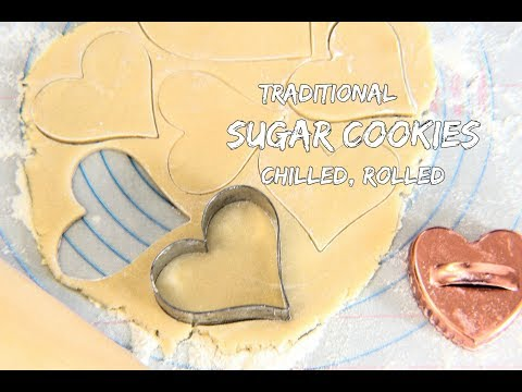 Classic Sugar Cookies - Best Cut Out Sugar Cookie Recipe | Bake It With Love