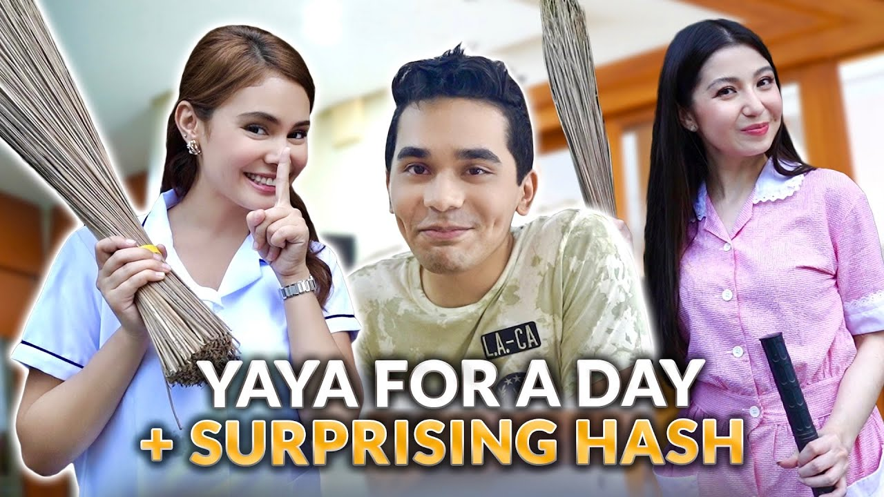 YAYA FOR A DAY + SURPRISING BRO WITH DONNALYN!   IVANA ALAWI