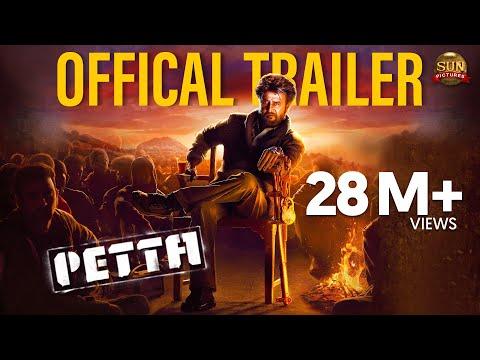 Petta - Official Trailer [Tamil]   Superstar Rajinikanth   Sun Pictures   Karthik Subbaraj   Anirudh