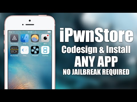 [iOS 9.3.1] Install iFile, F.LUX and more NO JAILBREAK | iPwnStore