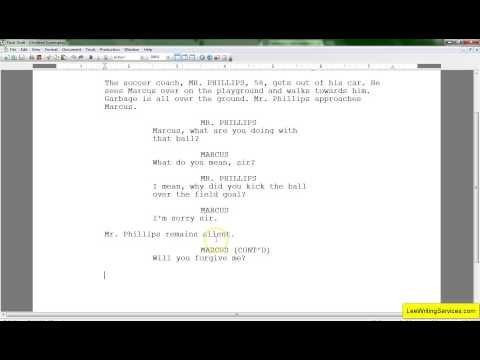 Screenwriting for Beginners - Dialogue Writing