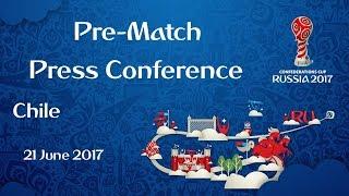 GER vs. CHI - Chile Pre-Match Press Conference