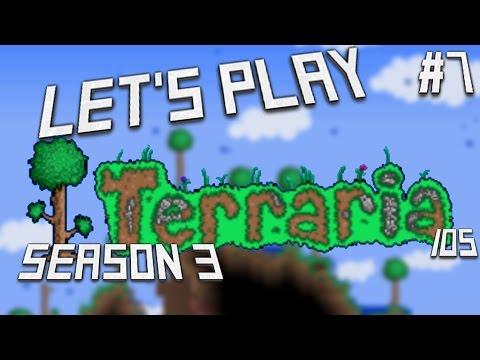 Let's Play Terraria (1.2) iOS- Flying Carpet & Sandstorm in a Bottle! Episode 7 (S3)