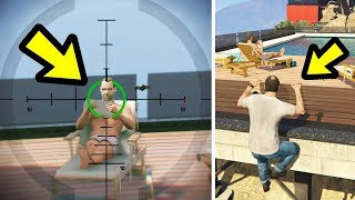 GTA 5 - Can you sneak up on Devin in the Final Mission?