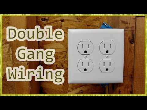 Adding Outlets & Double Receptacle Wiring