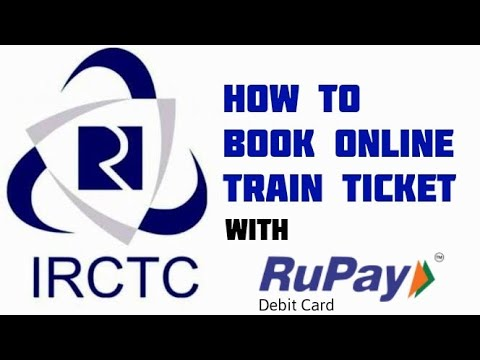 How to book irctc ticket with any bank RuPay card