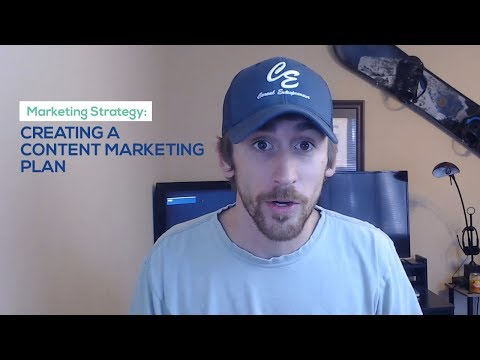 Marketing Strategy: Creating a Content Marketing Plan
