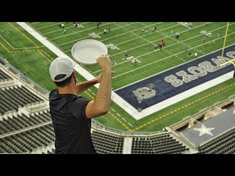 AT&T Stadium Trick Shots | Brodie Smith