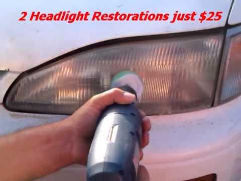 A Fast/Fix/Car/Headlight/Glass/Chip/Crack/Repair