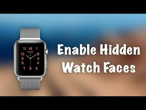 How to change an Apple Watch face
