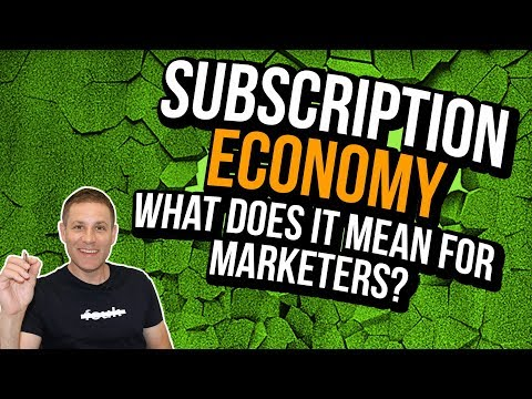 Changing Expectations For Marketing Consultants In [The New Subscription Economy]