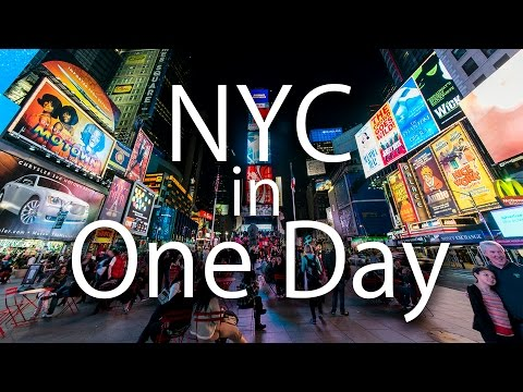 HOW TO TOUR NYC IN ONE DAY