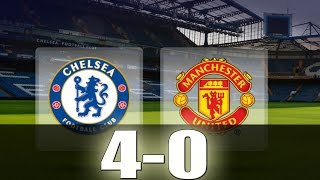 Chelsea vs Manchester United 40  All Goals  Extended Highlights  Premier League 23102016 HD