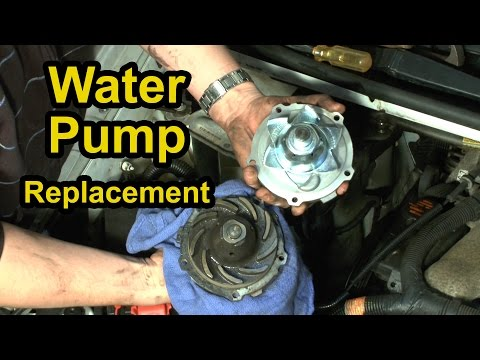 Water Pump Replacement - Chevy 3.4L V6 Step-by-Step Instructions