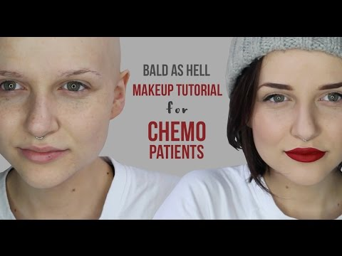 BALD AS HELL | MAKEUP TUTORIAL FOR CHEMO PATIENTS