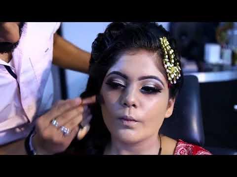 muslim bridal with nude makeup