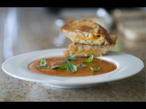 Grilled Cheese & Tomato Soup | Byron Talbott