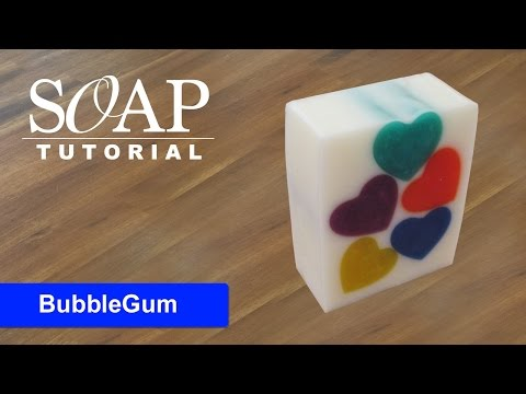 BubbleGum, Melt and Pour Soap Tutorial