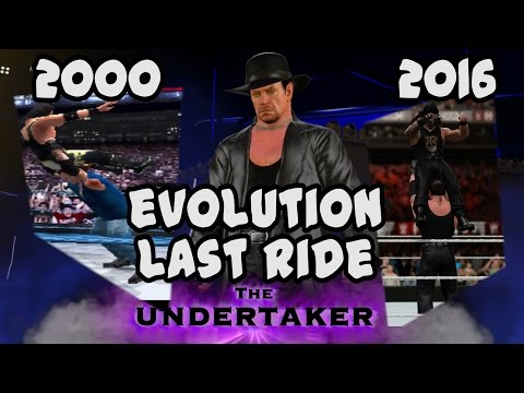The Evolution of The Last Ride from Know Your Role to WWE 2K17